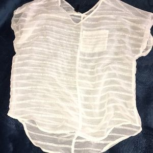Gorgeous Sheer Maurice's Summer Top small
